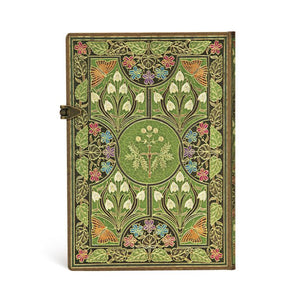 Paperblanks Notebook Midi Lined Poetry in Bloom