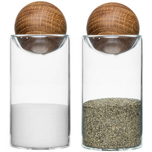Nature salt/-pepper set