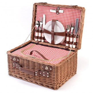 Picnic Set Red Gingham
