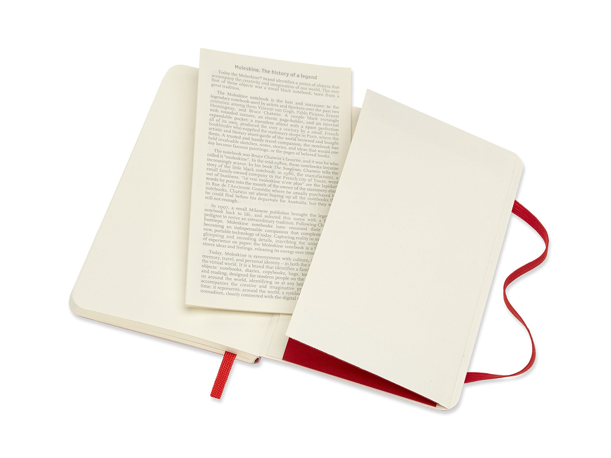 Moleskine notebook softcover large plain