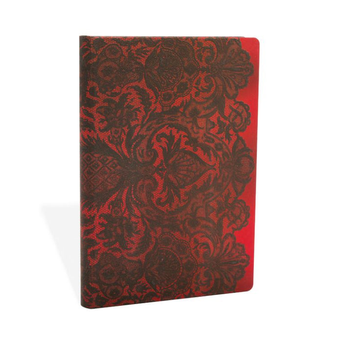 Paperblanks Notebook Mini Lined Rouge Boudoir