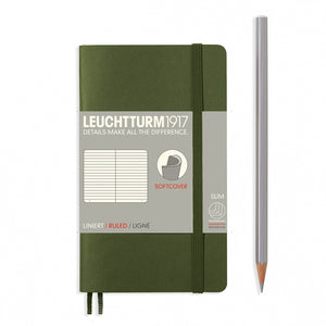 Leuchtturm pocket lined notebook (A6) softcover