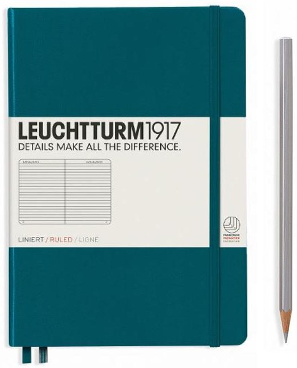Leuchtturm paperback lined notebook (B6+) softcover