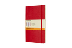 Moleskine notebook softcover large lined
