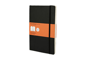 Moleskine notebook softcover large ruled