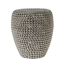 Load image into Gallery viewer, Dot Stool Silver