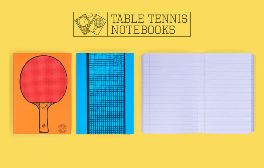 Table Tennis Notebook