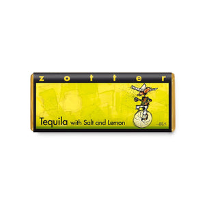 Zotter Hand-scooped chocolate Tequila with Salt and Lemon