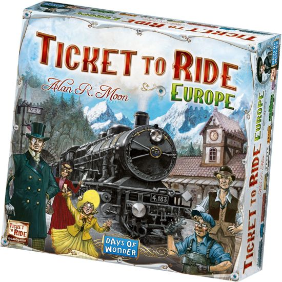 Games Ticket to Ride - Europe