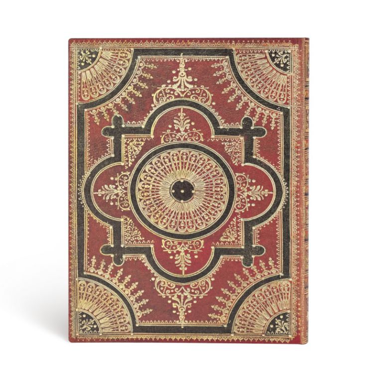 Paperblanks Notebook Ultra Lined Flexis Ventaglio Rosso