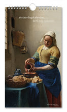 Load image into Gallery viewer, Birthday Calendar Johannes Vermeer