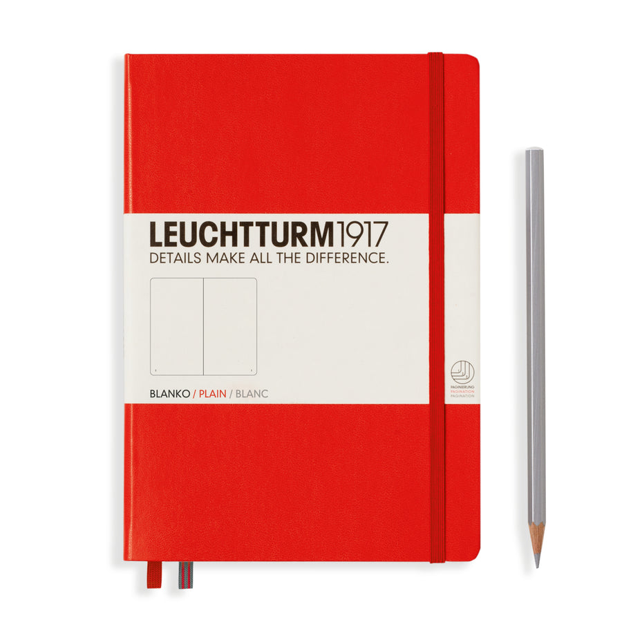 Leuchtturm medium plain notebook (A5) hardcover