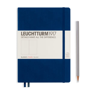 Leuchtturm Blanco Notitieboek Medium (A5) Hardcover