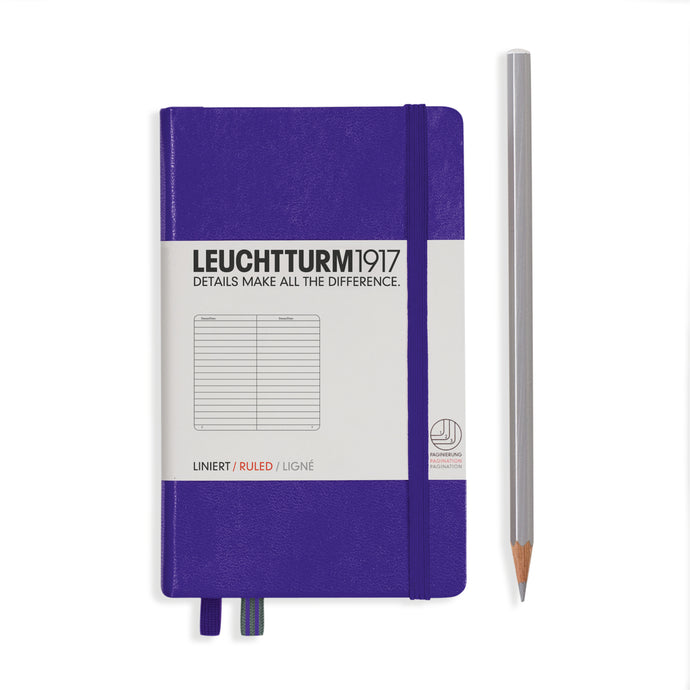 Leuchtturm pocket lined notebook (A6) hardcover