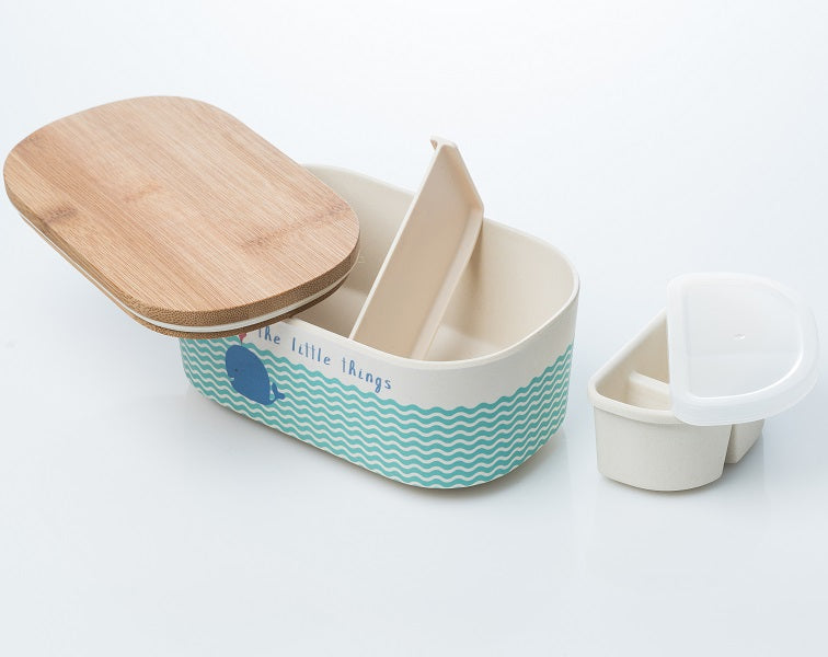 Bamboo Lunch Box Whale