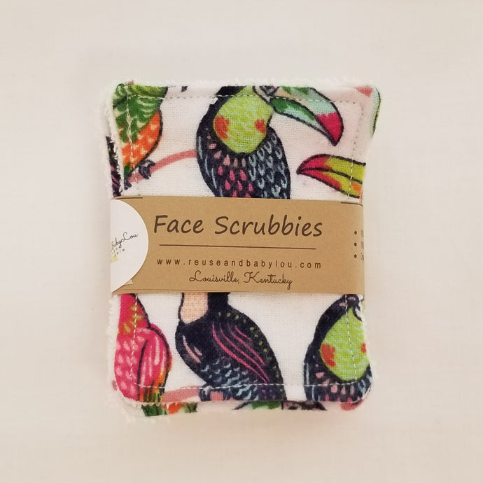 Face Scrubbies/Make up Removers (7ct)