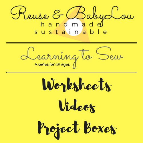 Learning to Sew Practice Sheets Download