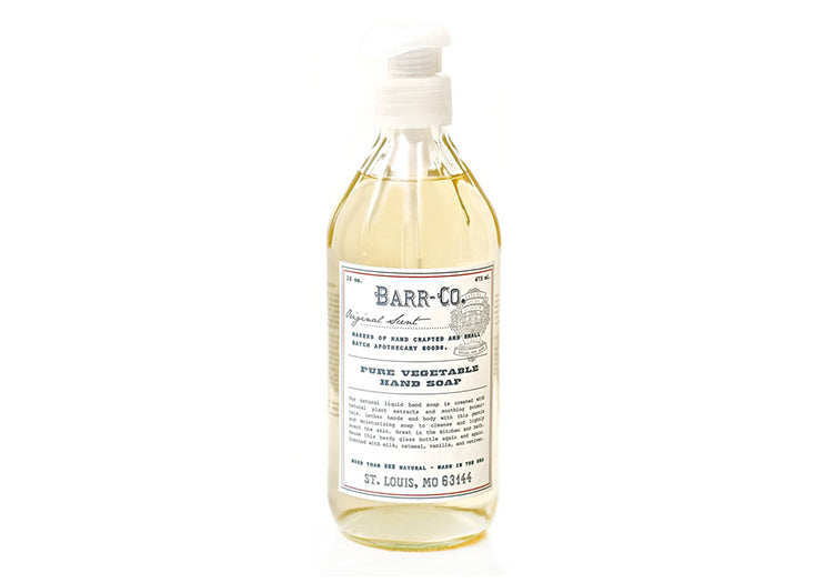 BARR-CO VEGETABLE HAND SOAP