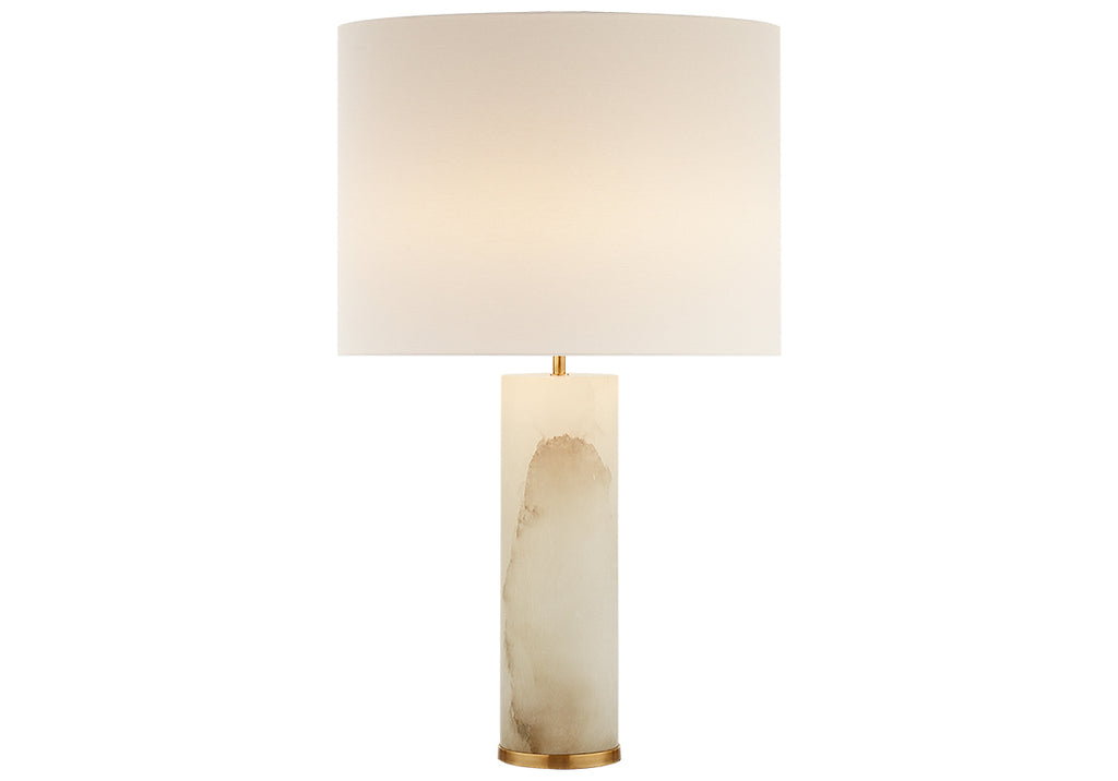 ALABASTER LINEHAM TABLE LAMP