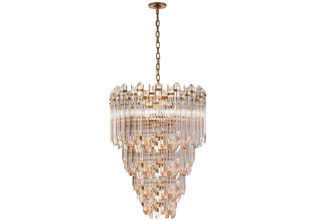 ADELE 3-TIER WATERFALL CHANDELIER