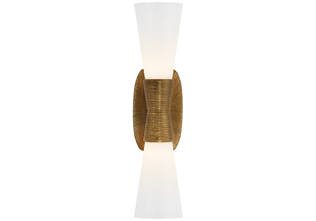 UTOPIA DOUBLE SCONCE