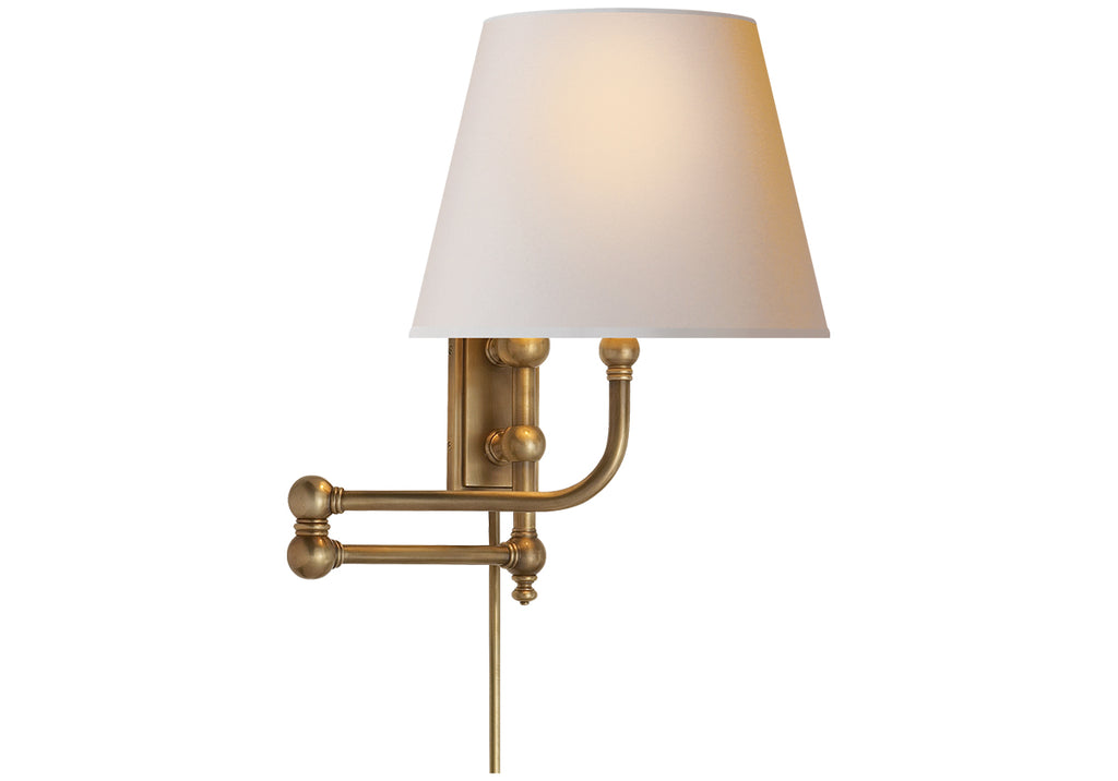 PIMLICO SWING ARM SCONCE