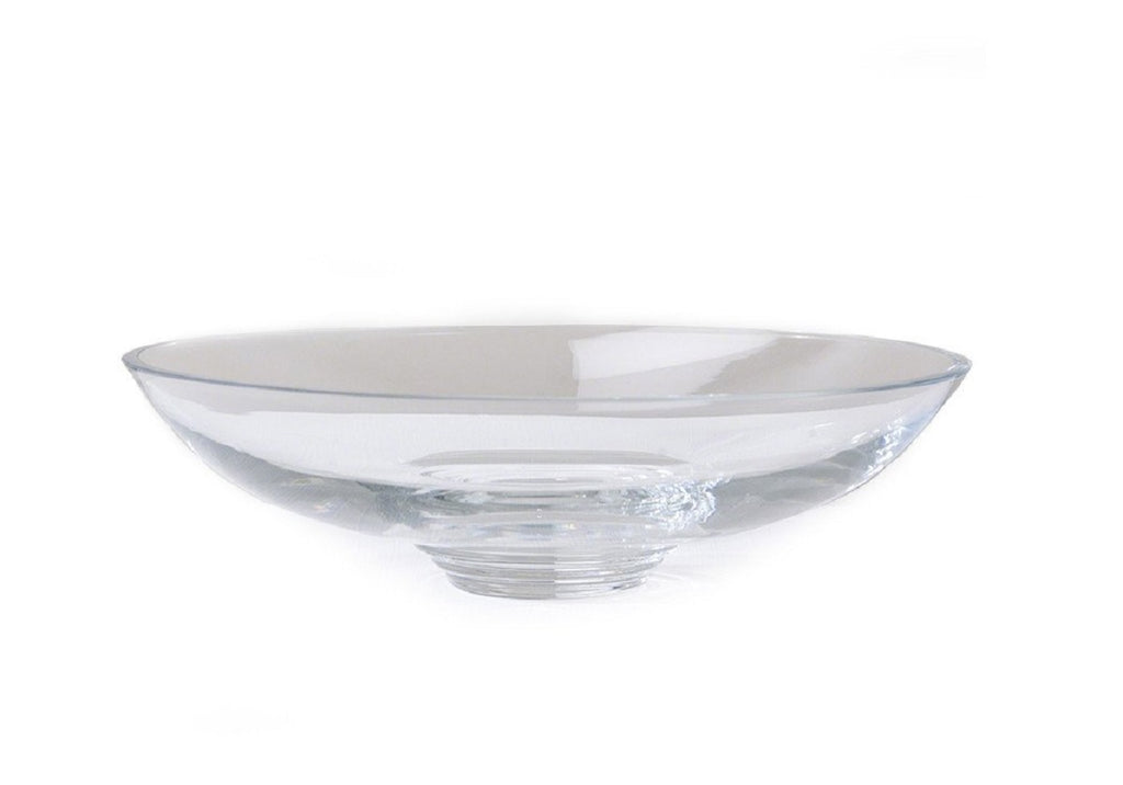COUPE SHAPED GLASS BOWL