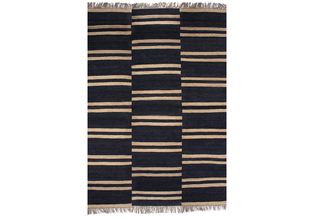 DERBY STRIPE JUTE RUG