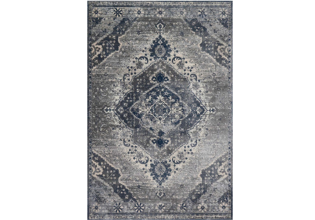 EVERLY SILVER & GRAY RUG