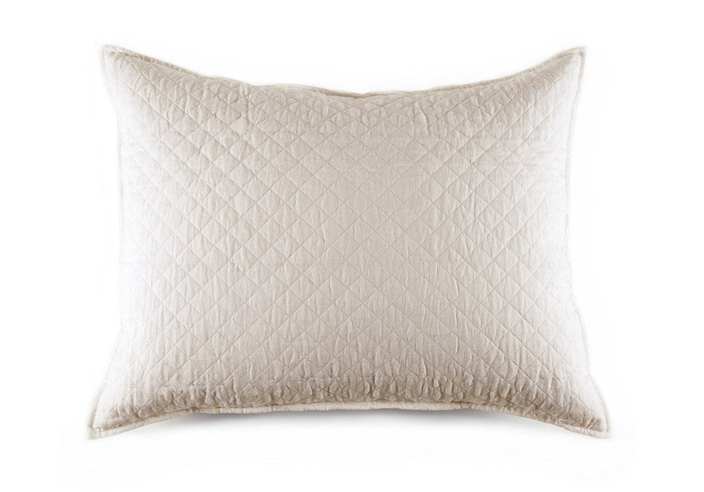 HAMPTON CREAM BIG PILLOW