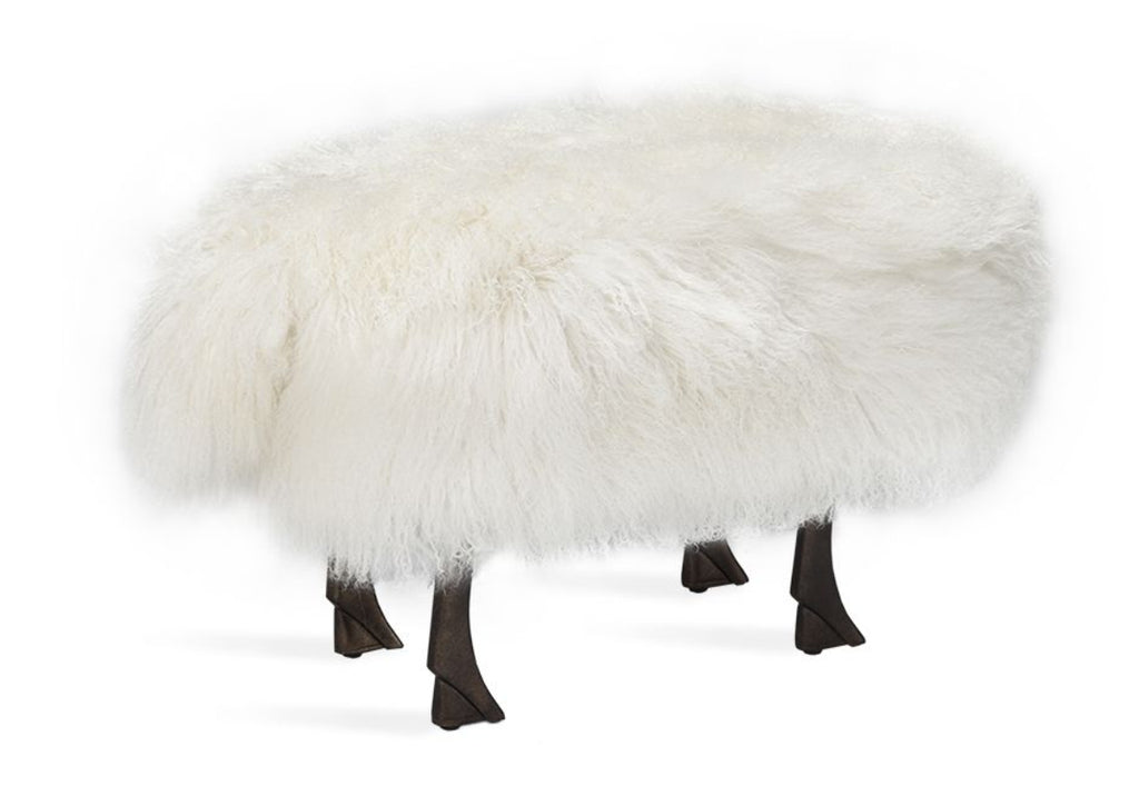 JOELLE SHEEP STOOL