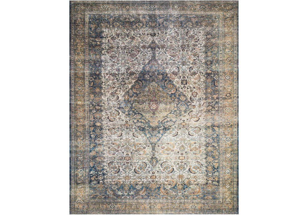LUCCA IVORY & MULTI RUG