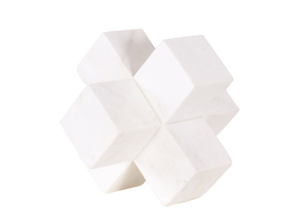SQUARE MARBLE DECORATION