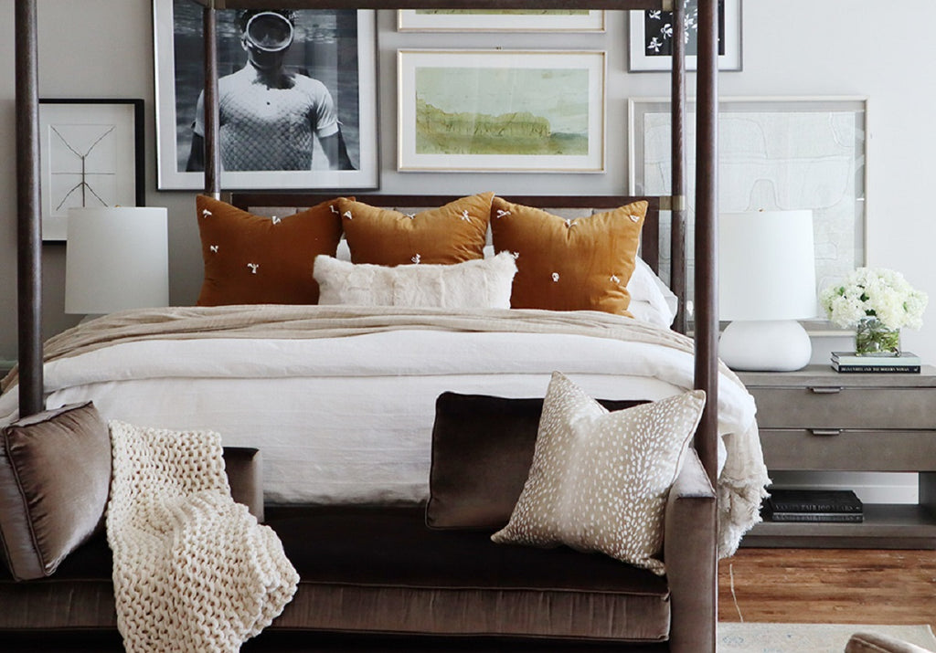Picture of: Ivory Fur Lumbar Pillow Alice Lane Home Collection