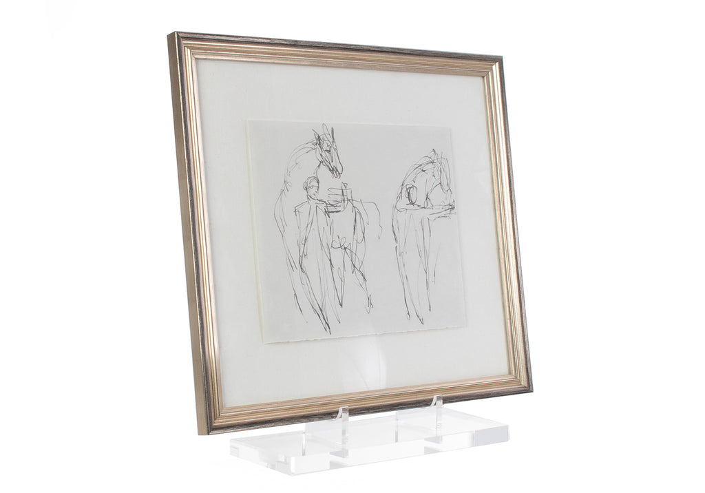LUCITE GALERIE EASEL