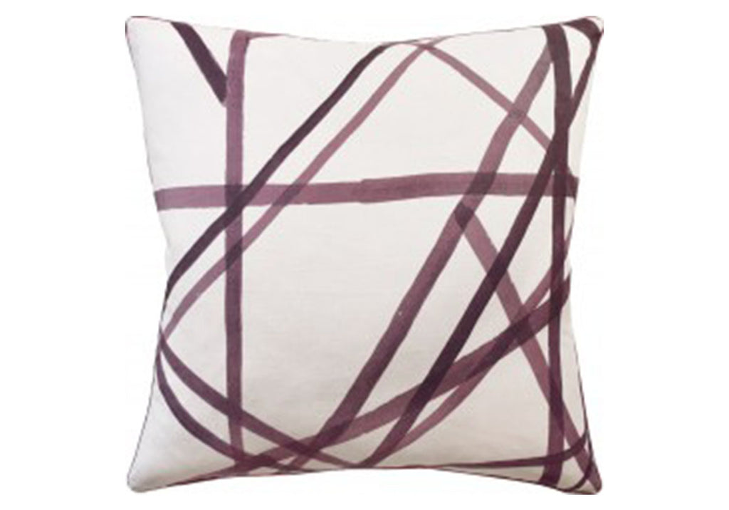 CHANNELS PLUM PILLOW