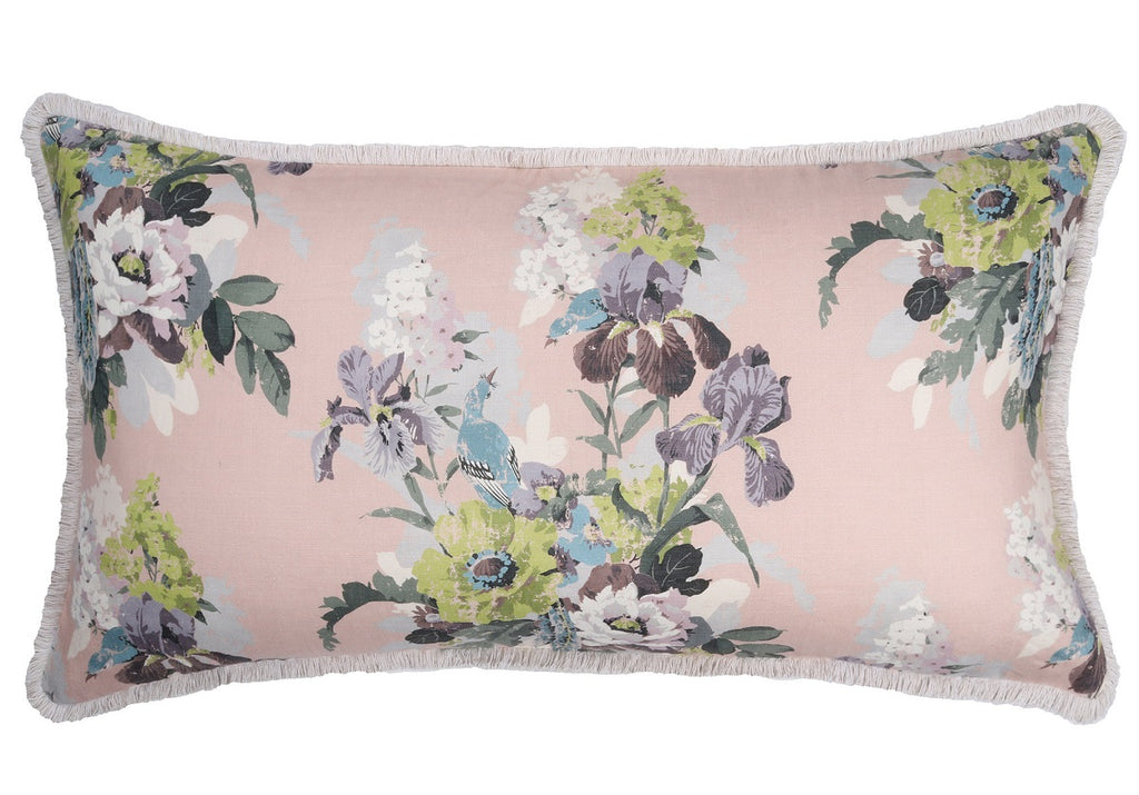 ENGLISH GARDEN BLUSH PILLOW
