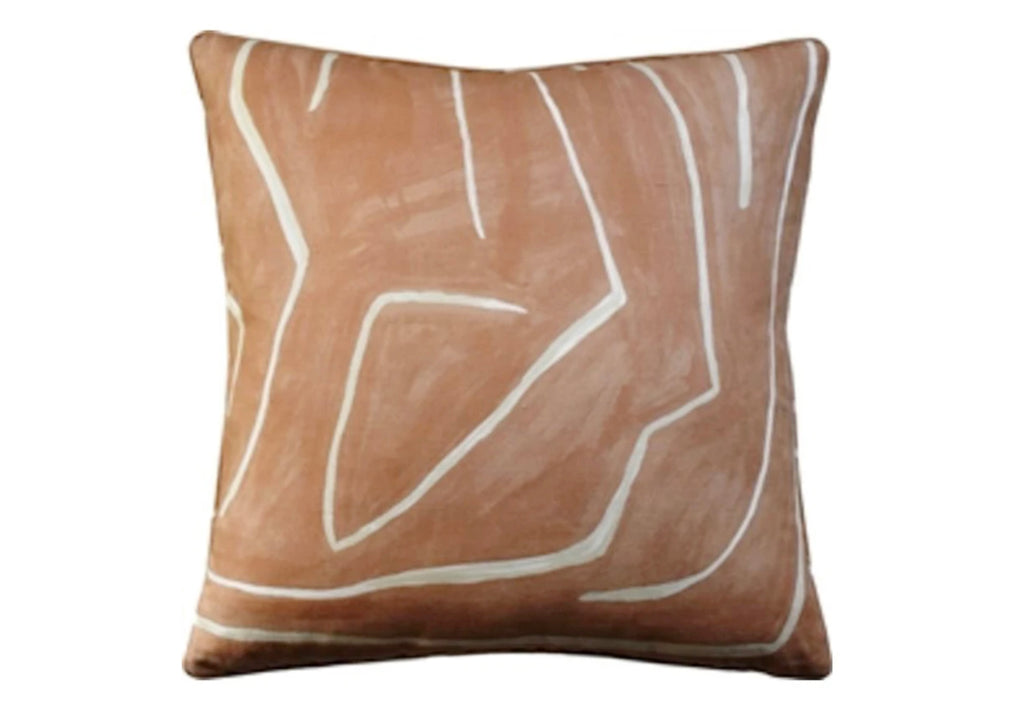 GROVE SALMON & CREAM PILLOW