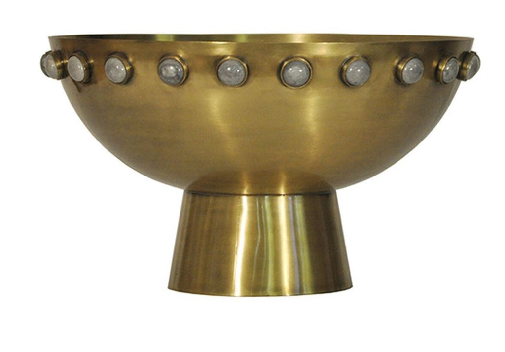HARVEY BRASS BOWL