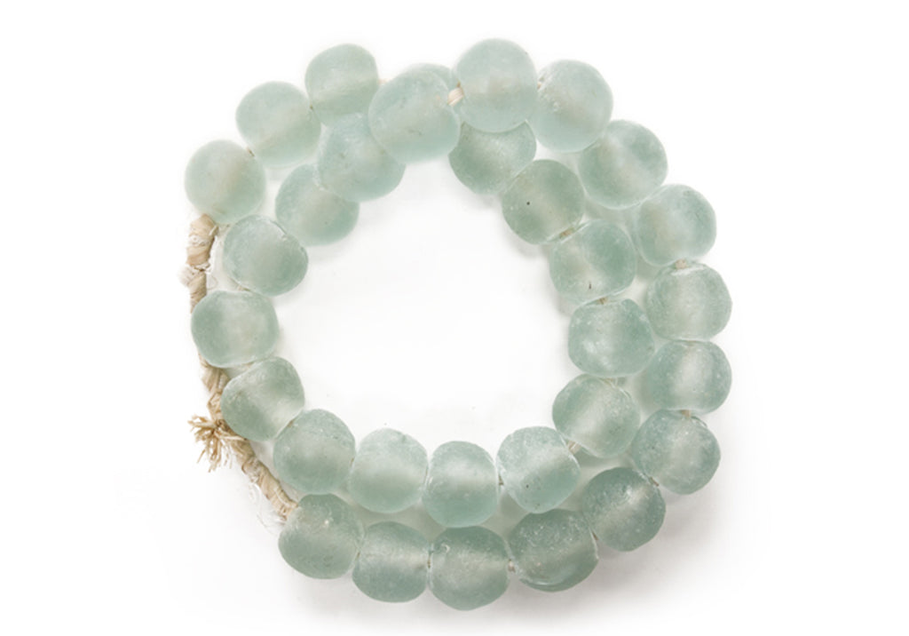 LARGE SEA GLASS BEADS