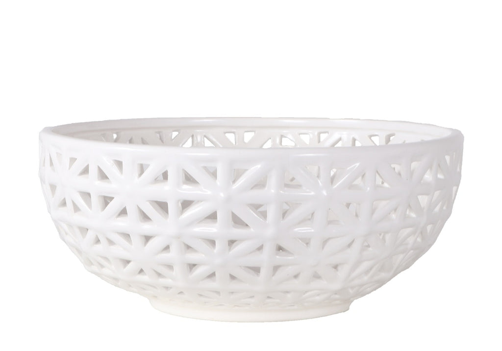 PORCELAIN LATTICE BOWL
