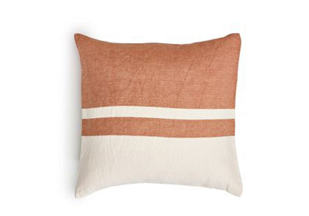 LOUISIANA STRIPE LINEN PILLOW