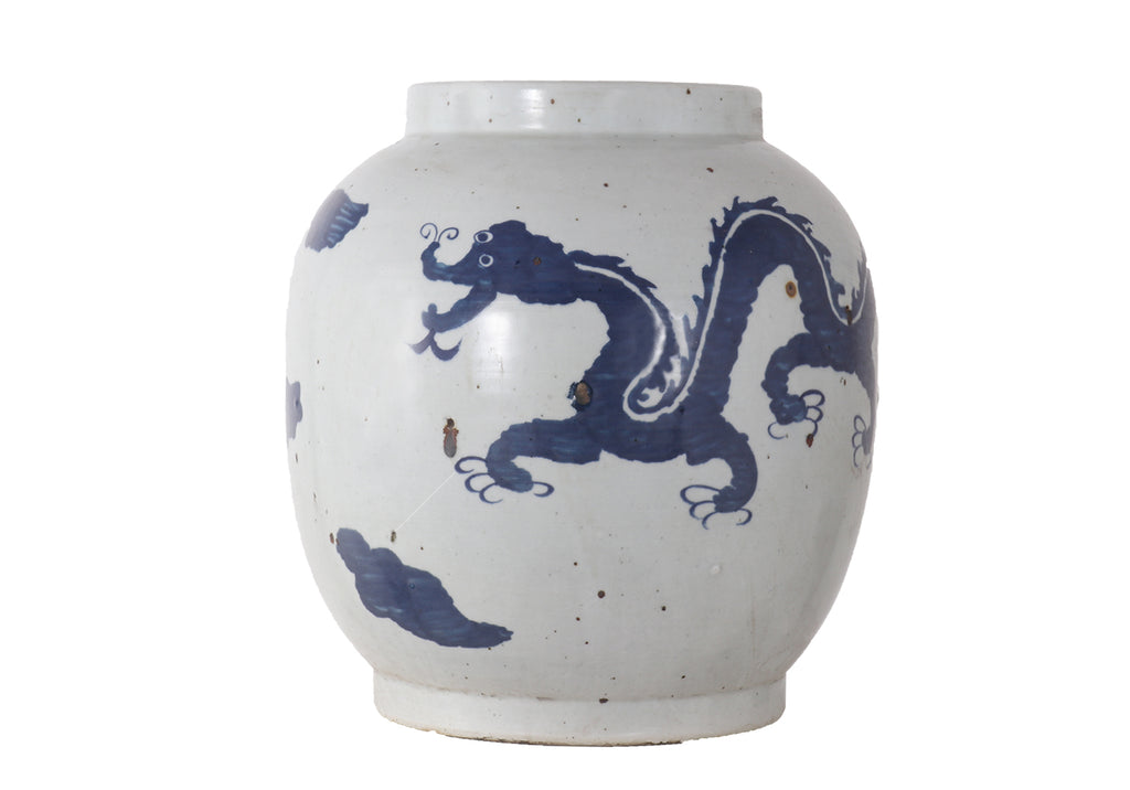 PAINTED DRAGON JAR