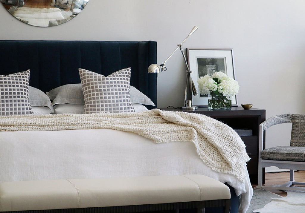 TRAWICK IVORY COVERLET