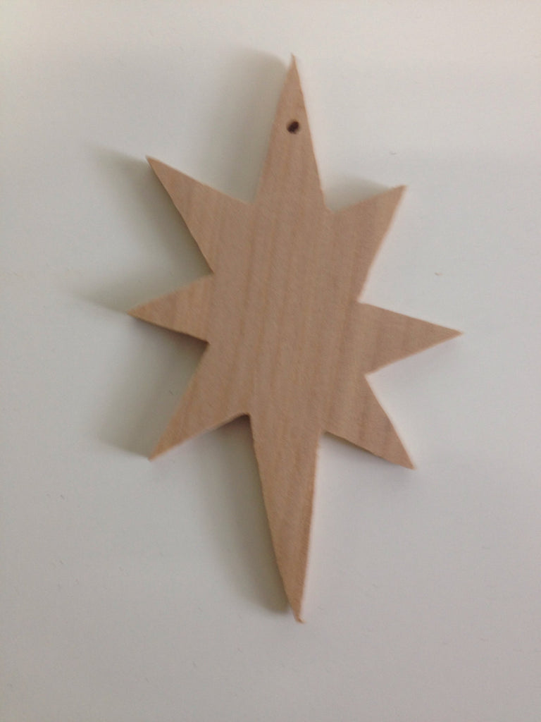 Christmas Star Old Fashioned Handmade Christmas Ornament Buy 1 Or Buy Many Combine Shipping