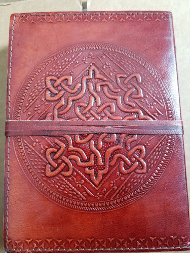 Celtic Knot Leather Bound Journal