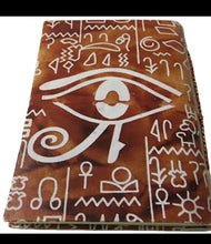 Paper Journal with Eye of Horus
