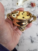 Brass Mini Cauldron