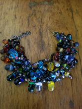 Shake, Rattle, and Roll Glass Bead Bracelet