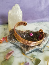 Copper Wrist Bracelet (magnetized)